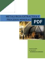 Mineralogía y Metalurgia