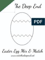 Easter Egg Mix n Match