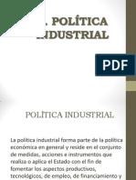 Politica Industrial