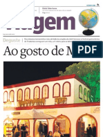 Suplemento Viagem - Jornal O Estado de S. Paulo - Minas Gerais 20120717
