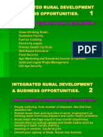 Integrated Rural Development Business Opportunities