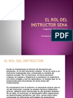 El Rol Del Instructor Sena