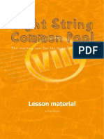 Eight String Lessons