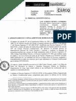 Contestación de demanda de inconstitucionalidad contra decretos legislativos 1094 y 1095