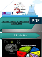 THORIUM –BASED NUCLEAR POWER PRODUCTION