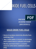 SOLID-OXIDE FUEL CELLS