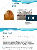 Rice husk based energy generation…