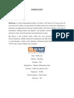 Synopsis - Big Bazaar Customer Satisfaction