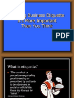 Business Etquettes