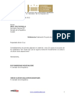 Proyecto de Ley Estatutaria Sector Salud 2012