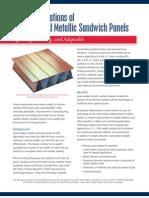 Laser-Welded Metallic Sandwich Panels