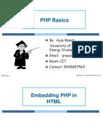 1 PHP Basics