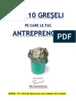 DR Consultants Top 10 Greseli