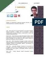María josé sanhueza Cm Mediosdigitales Socialmedia manager