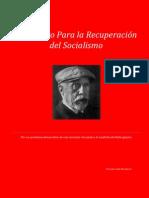 Manifiesto Recuperar Socialismo