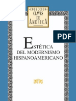 Estetica Del Modernismo Hispanoamericano (Biblioteca Ayacucho) - V. v. a. A