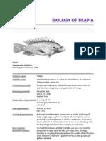 Biology of Tilapia