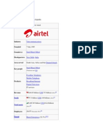 Airtel History