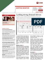 CIMB - Shipping Sector Report