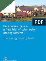Solar Panel Field Study