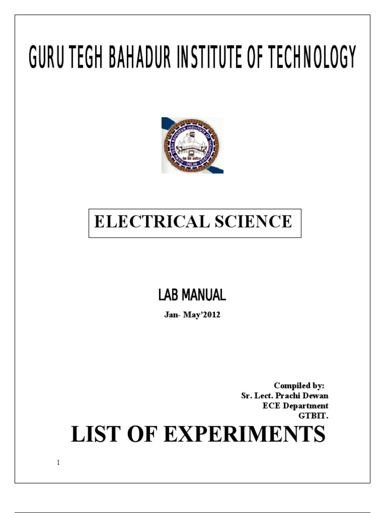Lmescience2sem Series And Parallel Circuits Transformer Electronic Circuit By Jb Gupta