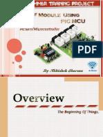 Wireless RF Module Using PIC MCU (Slides).
