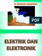Ppt Thn 4 Elektrik & Elektronik-pengenalan