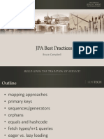 Jp a Best Practices