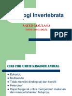 Bahan Belajar Zoologi Invertebrata