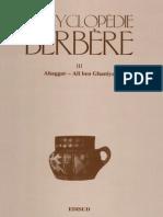 Encyclopédie Berbère Volume 3