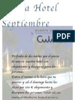Oferta Hotel Septiembre 12