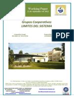 Grupos Cooperativos. LIMITES DEL SISTEMA (Es) Cooperative Groups. LIMITS OF THE SYSTEM (Es) Kooperatiben Taldeak. SISTEMAREN MUGAK (Es)