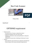 Laser Bar Code Scanner, Opti696D Fall 2008