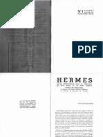 Hermes (II) No. 1 - Janvier 1936
