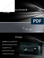 printer device  by dhruv vyas