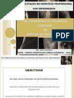 mecânica corporal apresentação - 2010