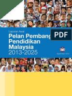 Pelan Pembangunan Pendidikan Malaysia 2013-2025 - Bahasa Malaysia