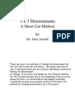 3x3Determinants by Dr Julia Adams.ppt
