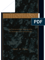 Eric David Perl - Theophany~ the Neoplatonic Philosophy of Dionysius the Areopagite - State University of New York Press