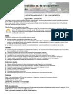 Offre Emploi_agent Developpement Et Concertation_automne 2012