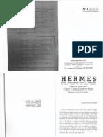 Hermes (III) No. 1 - Janvier 1938