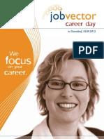 Begleitheft jobvector career day Düsseldorf 2012