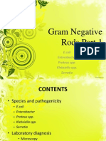 Gram Negative Rods Part 1