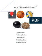 Compilation of Different Ball Games