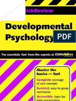 Developmental Psychology. Cliffs Quick Review.0764586149