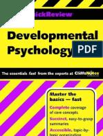 Developmental Psychology. Cliffs Quick Review.0764586149