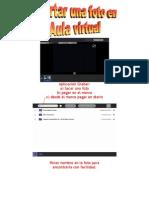 Incertar Foto en Aula Virtual