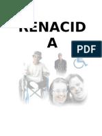 renacida (diario de un minusválido)