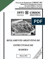 CIRSOC 601 Estr Maderas