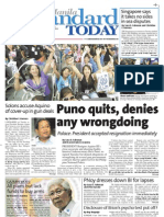 Manila Standard Today Wednesday (September 12, 2012) Issue